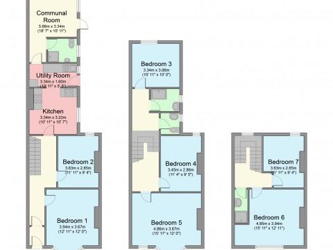 Blenheim Road, Plymouth : Floorplan 1