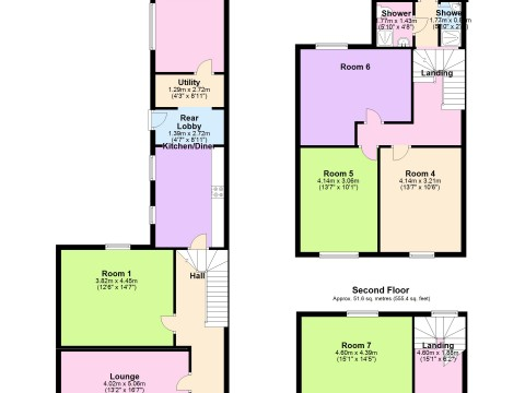 North Road East, North Hill, Plymouth : Floorplan 1