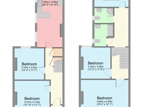 Alexandra Road, Plymouth : Floorplan 1