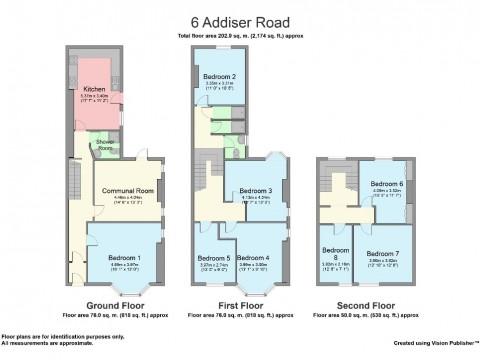 Addison road, North Hill, Plymouth : Floorplan 1