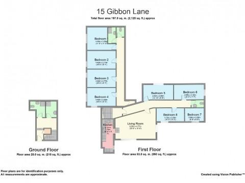Gibbon lane, North Hill, Plymouth : Floorplan 1