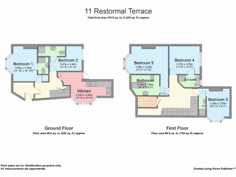 Restormel Terrace, Near The Uni Gym, Plymouth : Floorplan 1